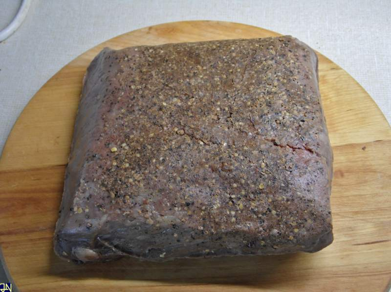 Roastbeef gegart